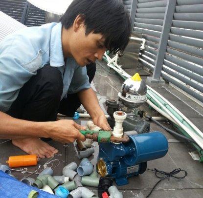 Thợ sửa máy bơm nước tại quận 6 Call 0908.648.509 - Dịch vụ sửa điện nước 24/24 giờ