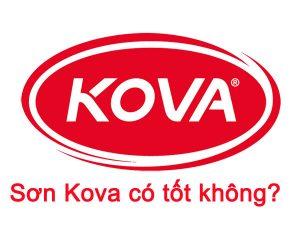 Sơn Kova có tốt không? Đánh giá sơn Kova