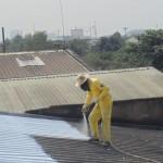 Chống nóng mái tôn nhà ở tphcm