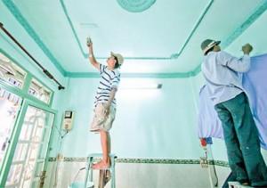 Sơn sửa nhà tại quận 4 - Thợ nhận sơn lại nhà - Sửa chữa nhà cấp 4 - Sửa máy bơm nước - Nhôm kính...