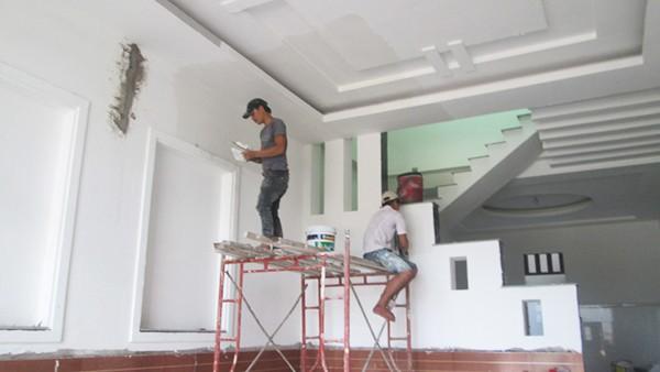 Sơn sửa nhà tại quận 5 - Chuyên nhận sơn lại nhà cũ - Chống thấm nhà vệ sinh,sân thượng với chi phí hợp lý