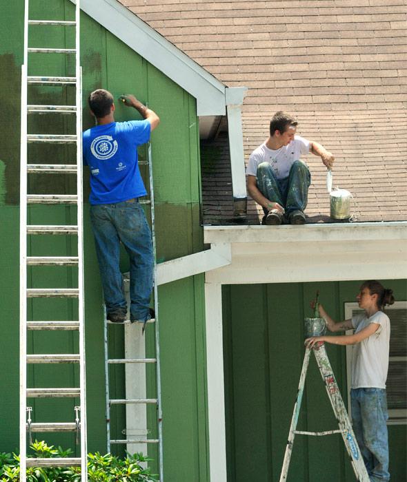 Sơn sửa nhà tại quận 7 Liên hệ 0908.648.509 Tphcm - Dịch vụ uy tín có mặt trên địa bàn tphcm