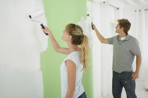 Cách sơn tường cũ và những lưu ý khi cạo và sơn lại nhà