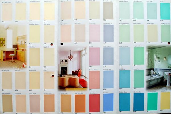 Bảng màu sơn Nippon