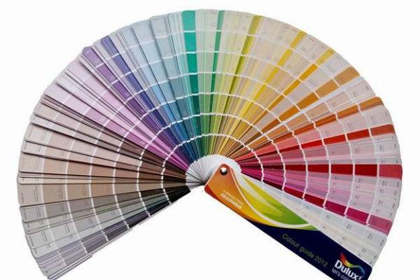 Quạt màu sơn Dulux