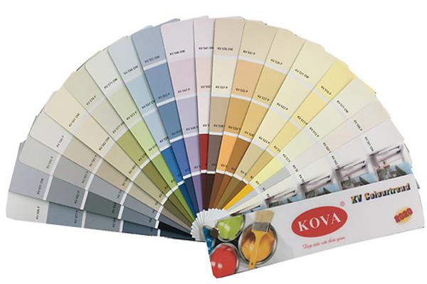 Quạt màu sơn Kova