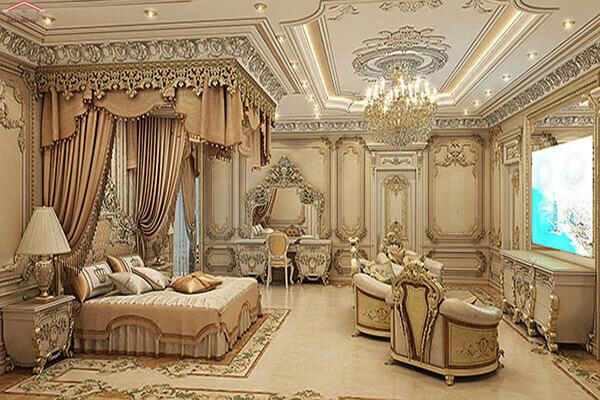 Phòng ngủ theo phong cách cổ điển