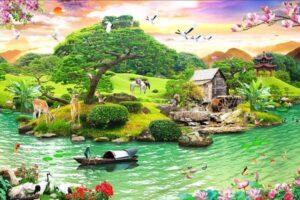 Vẽ tranh phong cảnh vì sao lại được nhiều người yêu thích?