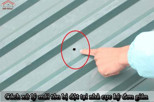Cách xử lý mái tôn bị dột tại nhà cực kỳ đơn giản, hiệu quả mang lại cao