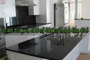 Sửa chữa đá bếp, vá, cắt bề mặt đá bếp uy tín, nhanh chóng, giá rẻ